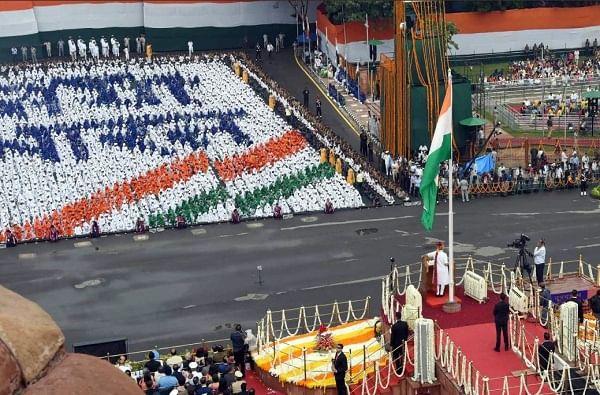 Independence Day 2019   लाल किल्ल्यावरील स्वातंत्र्य दिन सोहळ्याचे नयनरम्य फोटो