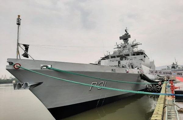 या युद्धनौकेच्या सुपरस्ट्रक्चरच्या निर्मितीसाठी कार्बन कंपोझिटचा उपयोग करण्यात आला आहे. जो भारतीय युद्धनौका निर्मितीच्या इतिहासात मोठं यश मानलं जात आहे.