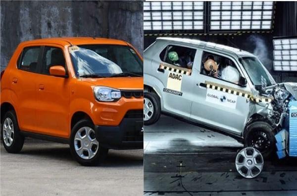 मारुती सुझुकी एस-प्रेसो (Maruti Suzuki S-Presso) :  ग्बोबल NCAP (New Car Assessment Programme) द्वारे टेस्ट केल्यानंतर मारुती सुझुकीच्या एस-प्रेसो या कारला शून्य रेटिंग देण्यात आलं आहे. सुरक्षिततेच्या बाबतीत एस-प्रेसो ही कार पूर्णपणे नापास झाली आहे. गाडीमध्ये केवळ चालकाच्या बाजूला एअरबॅग देण्यात आली आहे.
