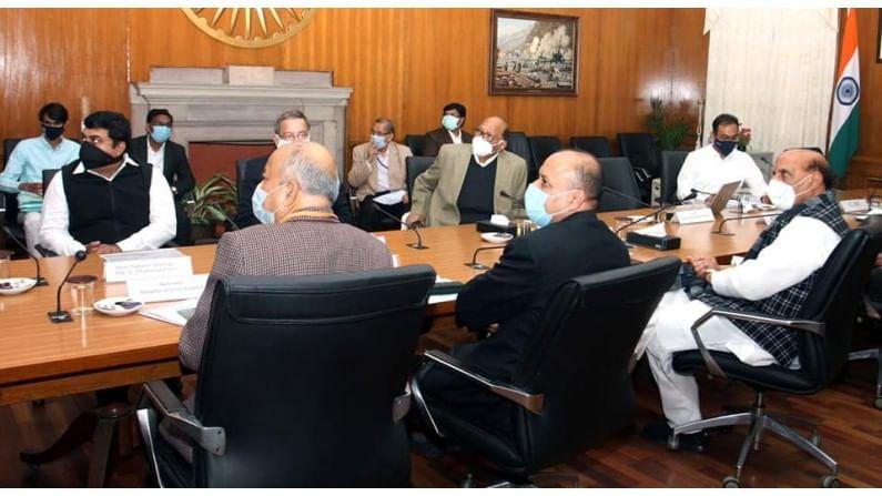 या बैठकीसाठी राष्ट्रवादीचे सर्वेसर्वा शरद पवार, केंद्रीय संरक्षण मंत्री श्री. राजनाथ सिंह, संरक्षण सचिव व नागरी उड्डाण सचिव उपस्थित होते.