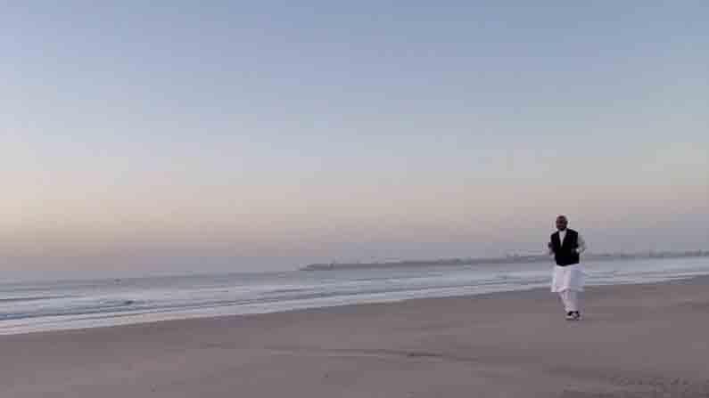 राष्ट्रपती राम नाथ कोविंद दिव-दमणच्या चार दिवसीय दौऱ्यावर असून, या दरम्यान त्यांनी 'घोघला बीच' या दिवच्या प्रसिद्ध समुद्र किनाऱ्याला भेट दिली.
