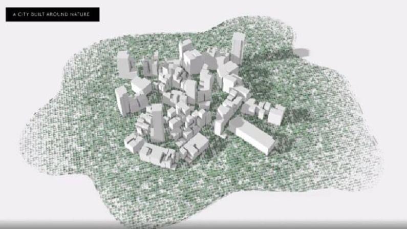 द लाईन या शहरात तब्बल 10 लाख लोक राहतील. 2030 पर्यंत या शहरात 3 लाख 80 हजार रोजगार तयार होतील. शहराच्या आधारभूत संरचनेचा निर्मिती खर्च म्हणून सौदी अरब 100 ते 200 बिलियन अमेरीकन डॉलर्स खर्च करणार आहे. सौदी अरबने या नव्या शहराबाबत म्हटले आहे की, या नव्या शहरात कार्बन उत्सर्जन (Carbon Emission) होणार नाही.