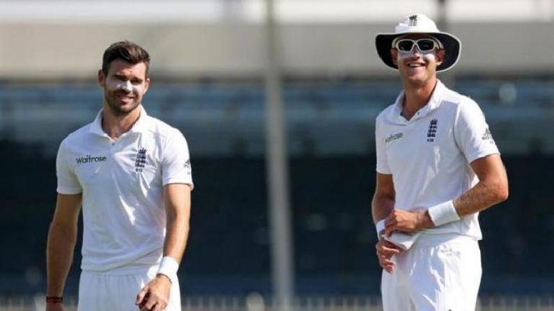 जेम्स अँडरसन आणि स्टुअर्ट बोर्ड हे इंग्लंडचे महत्वाचे गोलंदाज आहेत. या दोघांनी मिळून कसोटी क्रिकेटमध्ये एकूण 1100 पेक्षा जास्त विकेट्स घेतल्या आहेत. अँडरसनचा हा 5 वा भारत दौरा आहे. यामुळे या दोन्ही गोलंदाजांविरुद्ध खेळण्यासाठी रणनिती आखून खेळणं गरजेचं असणार आहे.
