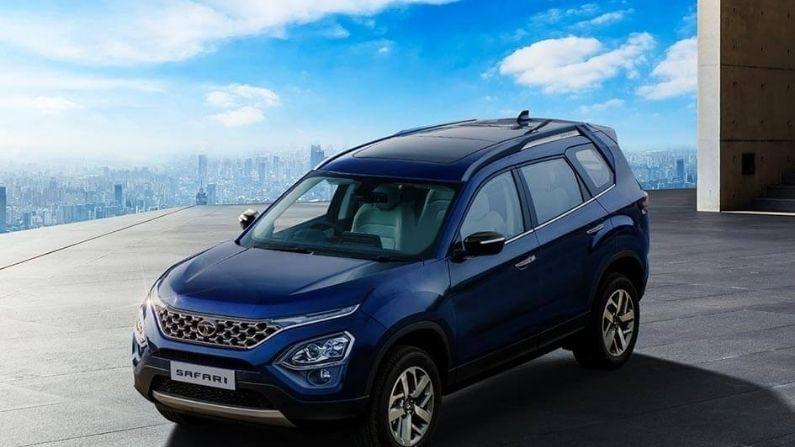 टाटा मोटर्स (Tata Motors) कंपनीने त्यांची नवीन टाटा सफारी (Tata Safari 2021) 7 सीटर कॉन्फिग्रेशनमध्ये लाँच केली आहे. Tata Safari 2021 SUV ची सुरुवातीची किंमत 14.69 लाख रुपये (एक्स शो-रूम) इतकी ठेवण्यात आली आहे. या कारच्या टॉप वेरियंटची किंमत 21.25 लाख रुपये इतकी आहे. 90 च्या दशकात भारतीय मार्केटमध्ये धुमाकूळ घालणारी टाटा सफारी आता अधिक अपग्रेडेड तंत्रज्ञानासह आपल्या भेटीला आली आहे.