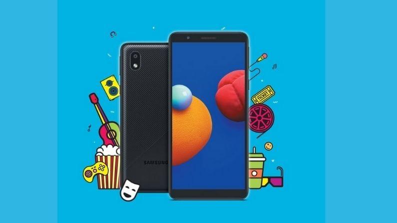 Samsung Galaxy M01 Core हा फोन पहिल्यांदा यूजर्सच्या आवडीने तयार करण्यात आला आहे. Samsung Galaxy M01 Core मध्ये 5.3 इंचचा HD+ डिस्प्ले आहे. हा फोन ब्लॅक, ब्लू आणि रेड कलरमध्ये मिळेल. सोबतच यामध्ये 4G सपोर्टही देण्यात आला आहे. या स्मार्टफोनमध्ये मीडियाटेकचा क्वॉडकोर 6739 प्रोसेसर लावण्यात आला आहे.
