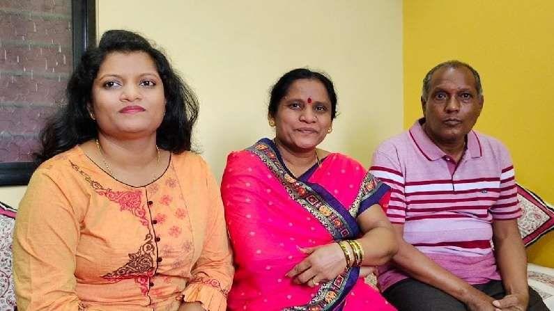Charudatta Salukhe Karad parents