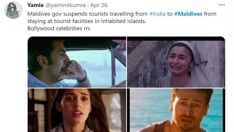 गेले अनेक दिवस बॉलिवूडमध्ये मालदीवचे वारे वाहत आहेत. मात्र आता काही भारतीयांना मालदीवला जाता येणार नाहीये.