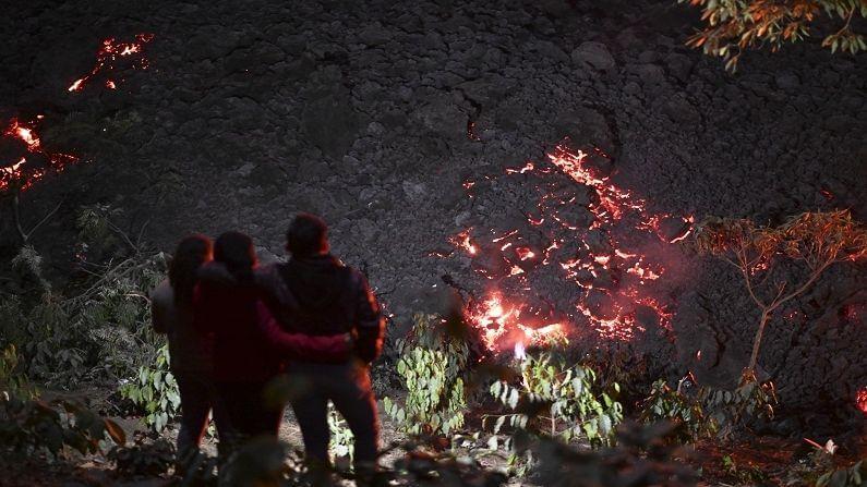 ज्वालामुखीच्या जवळ 57 कुटुंब राहत होती. यात एकूण संख्या 350 लोक राहत होते. ज्वालामुखीमुळे मागील 2 महिन्यात या 350 लोकांना तिसऱ्यांचा स्थलांतरित व्हावं लागलं.