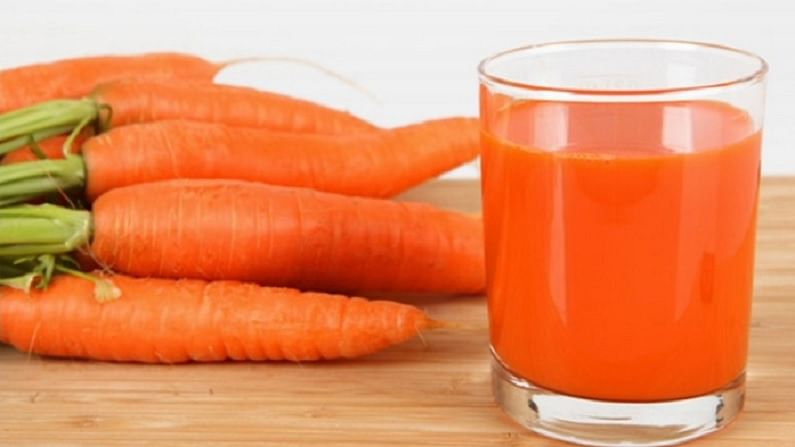 गाजरचा रस पोषक तत्वांनी समृद्ध असतो. गाजरचा रस शरीराला ताजे ठेवण्याचे काम करतो.