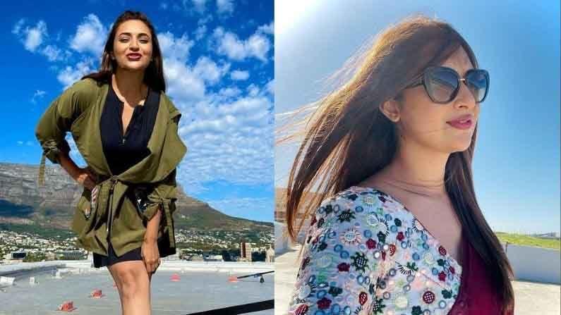 प्रसिद्ध टीव्ही अभिनेत्री दिव्यांका त्रिपाठीचे (Divyanka Tripathi) चाहते जगभरात पसरलेले आहेत. स्टार प्लसचा टीव्ही शो 'ये है मोहब्बतें'मधून या अभिनेत्रीने कमावलेली प्रसिद्धी अद्याप तसूभरही कमी झालेली नाही. दिव्यांका त्रिपाठी आता 'खतरों के खिलाडी सीझन 11'च्या (Khatron Ke Khiladi 11) चित्रीकरणासाठी केपटाऊन गाठले आहे. केपटाऊनच्या सुंदर समुद्र किनाऱ्यांवर दिव्यांकाने सुंदर फोटोशूट केले आहे.