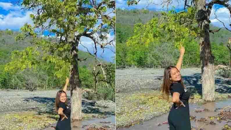 नेहा कक्कर सध्या उत्तराखंडमध्ये (uttarakhand) आहे. हे तिचे मूळ गाव आहे. सध्या नेहा आपल्या गावी सुट्ट्यांचा आनंद लुटतेय. सोशल मीडियावर फोटो शेअर करत तिने ही माहिती चाहत्यांना दिली आहे.