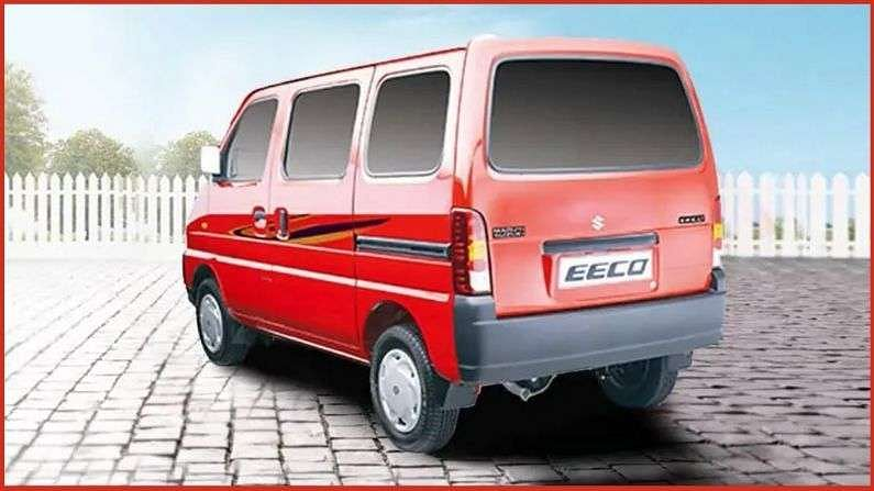 Maruti Eeco मध्ये 1.2-लीटर क्षमतेचं नॅचुरल एस्पायर्ड पेट्रोल इंजिन (5 स्पीड मॅनुअल ट्रांसमिशन गियरबॉक्ससह) देण्यात आलं आहे. जे 73PS पॉवर आणि 98Nm टॉर्क जनरेट करतं. ही कार CNG व्हेरिएंटमध्येदेखील उपलब्ध आहे.