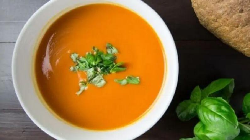 हिरव्या पालेभाज्यांचा सूप - हिरव्या पालेभाज्यांमधून बनविलेले सूप अ, क, ई आणि बी जीवनसत्त्वे समृद्ध असते. हे फायबर आणि खनिज समृद्ध आहे. पोषण समृद्ध आणि कॅलरी कमी, पालक, ब्रोकोली आणि काळे यासारख्या हिरव्या भाज्या वजन कमी करण्यास मदत करतात.