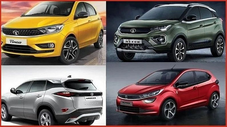 Tata Motors ने जून 2021 साठी काही निवडक गाड्यांवर आकर्षक डिस्काऊंटची घोषणा केली आहे. Tata च्या अधिकृत वेबसाईटवर देण्यात आलेल्या माहितीनुसार Tiago, Tigor, Nexon आणि Harrier सारख्या निवडक गाड्यांवर कंपनीकडून 65,000 रुपयांपर्यंतची सूट देण्यात आली आहे.