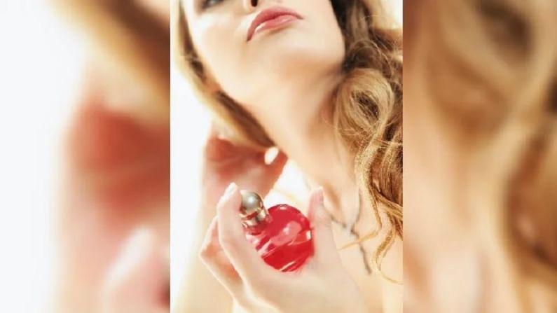 कोरड्या त्वचेवर परफ्यूम फार काळ टिकत नाही. म्हणून त्याचा उपयोग त्वचेवर मॉइश्चरायझर लावल्यानंतर करावा.