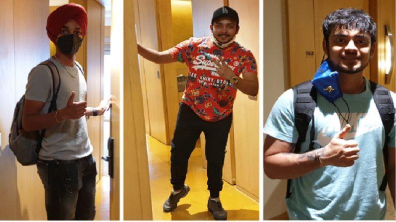 युवा फलंदाज इशान किशन (Ishan Kishan), पृथ्वी शॉ (Pruthvi Shaw) यांच्यासोबत पहिल्यांदाच संघात स्थान मिळालेल्य अर्शदीपनेही (Arshdeep Singh) मुंबईत आगमन केलं आहे.