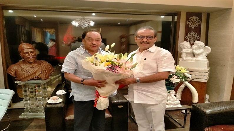 Narayan Rane and Rajesh Tope