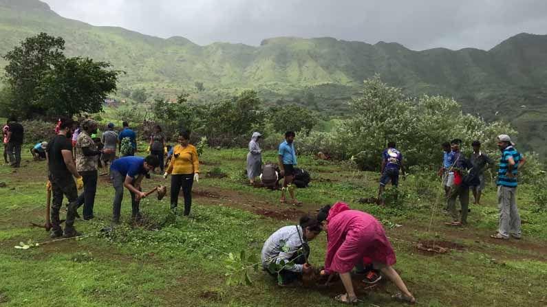 गेल्या चार वर्षांपासून भिवपुरी येथील जंगलामध्ये 'बाण हायकर्स' (Baan Hikers) तर्फे वृक्षारोपण केले जाते. यावर्षी या मोहिमेअंतर्गंत 200 झाडांचे रोपण 'बाण'च्या सदस्यांनी गावकऱ्यांच्या मदतीने केले.