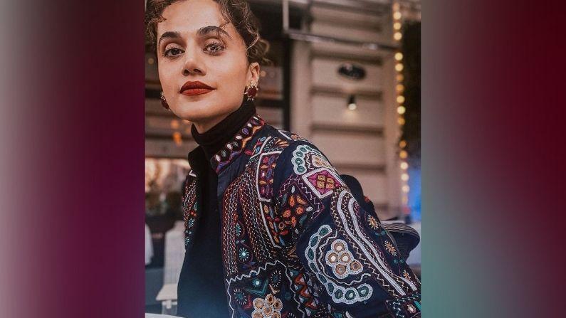 तिच्या प्रवासादरम्यान तापसीची फॅशनेबल स्टाईल चर्चेत होती. रशियामध्ये तापसी पन्नूचा जबरदस्त अवतार दिसला.