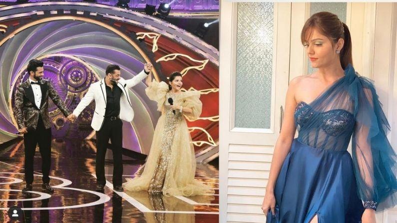 टीव्ही अभिनेत्री रुबिना दिलैकने बिग बॉस 14 चं पर्व जिंकलं आहे. शोमध्ये तिचं व्यक्तिमत्व दिसलं. आता तिनं बिग बॉस 14 मध्ये परिधान केलेल्या तिच्या गाऊनचा लिलाव करण्याचा निर्णय घेतला आहे.