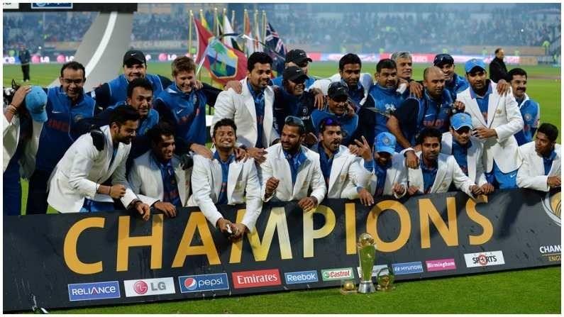 आयसीसी टूर्नामेंट्सचा हा सिलसिला 2013 मध्ये भारतीय कर्णधार महेंद्रसिंग धोनीने चॅम्पियन्स करंडक जिंकल्यापासून सुरु झाला. इंग्लंडमध्ये खेळल्या गेलेल्या अंतिम सामन्यात भारताने धोनीच्या नेतृत्वात यजमानांना पराभूत करून विजेतेपद जिंकले. या करंडकामुळे धोनी जगातील एकमेव कर्णधार बनला आहे ज्याने आयसीसीचे तीनही मोठे विजेतेपद जिंकले.