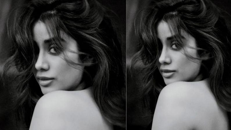 बॉलिवूडची सुंदर अभिनेत्री जान्हवी कपूर अनेकदा सोशल मीडियावर आपले फोटो शेअर करते. आता जान्हवी कपूरनं तिचा एक टॉपलेस फोटो शेअर केला आहे.