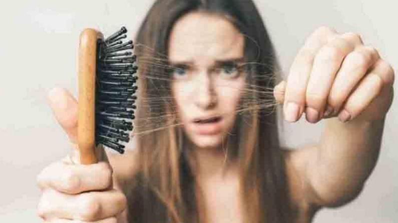 केस गळती
