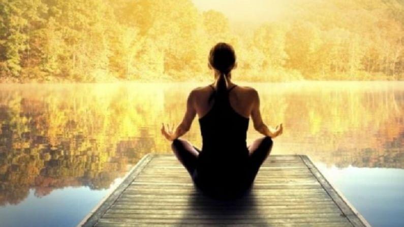 आपण मानसिक शांतीसाठी ध्यान करू शकता. हे तणाव कमी करण्यास मदत करते. तसेत तणावामुळे वजन देखील वाढते.