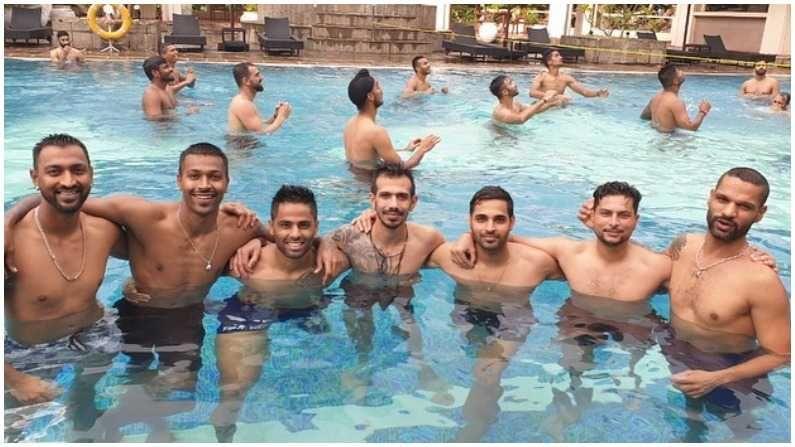 टीम इंडिया श्रीलंकेच्या दौऱ्यात तीन वनडे आणि तीन ट्वेन्टी-20 सामने खेळणार आहे. हे सर्व सामने कोलंबोमधील आर. प्रेमदासा आंतरराष्ट्रीय क्रिकेट स्टेडियमवर होणार आहेत. 13 जुलैपासून वन डे मालिकेला सुरुवात होत आहे. (Photo- Twitter/ BCCI)