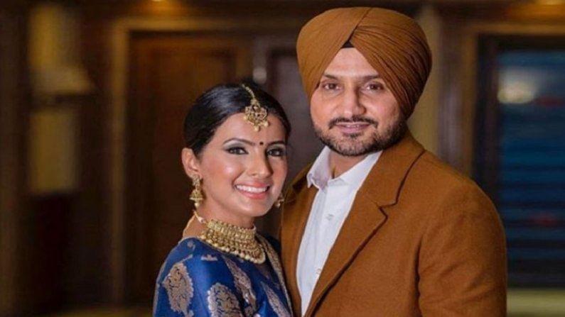 हरभजनने 2015 मध्ये अभिनेत्री गीता बसरा (Geeta Basra) हिच्यासह विवाह रचला. बराच काळ डेटिंग केल्यानंतर हरभजनने लग्न केले असून हे लग्न देखील काफी शानदार असे पार पडले होते.