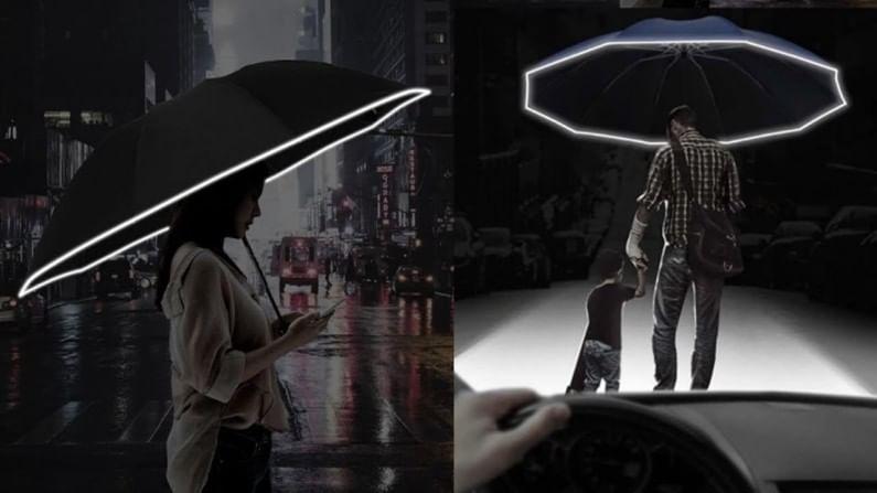 Xiaomi LED Umbrella UREVO Umbrella turnable LED light