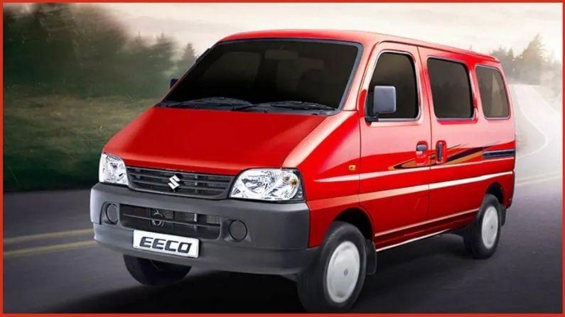 Maruti Eeco : मारुतीची ही मिनीव्हॅन अजूनही टॉप 10 यादीमध्ये आहे. गेल्या महिन्यात कंपनीने Eeco च्या एकूण 9,218 युनिट्सची विक्री केली होती. गेल्या वर्षी याच काळात कंपनीने एकूण 3,803 वाहनांची विक्री केली होती.