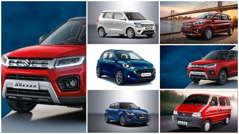 सर्व कार उत्पादक कंपन्यांनी जून महिन्यातील त्यांच्या वाहन विक्रीची आकडेवारी जाहीर केली आहे. या महिन्यातही मारुती सुझुकीने (Maruti Suzuki) देशात अव्वल स्थान पटकावलं आहे. मारुती सुझुकी कंपनीने जूनमध्ये एकूण 147,388 मोटारींची विक्री केली आहे, तर मेमध्ये ही संख्या 57,228 इतकी होती. जूनमध्ये सर्वाधिक विक्री होणाऱ्या गाड्यांबद्दल बोलायचे झाल्यास, मारुतीच्या 8 गाड्यांचा टॉप 10 वाहनांच्या यादीमध्ये समावेश आहे. या व्यतिरिक्त, ह्युंदायच्या क्रेटा एसयूव्ही आणि Grand i10 Nios प्रीमियम हॅचबॅक या दोन गाड्यांनी टॉप सेलिंग वाहनांच्या यादीत स्थान मिळवलं आहे. त्यामुळे ह्युंदाय ही मारुतीनंतरची देशातील दुसरी सर्वात यशस्वी वाहन कंपनी ठरली आहे.