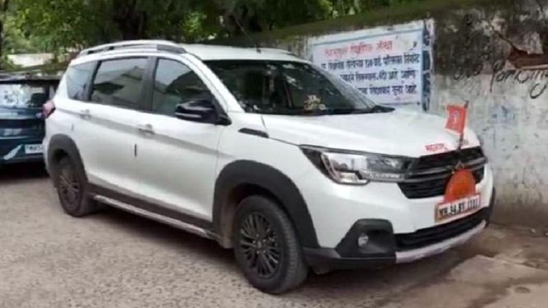 Chandrapur mayor car