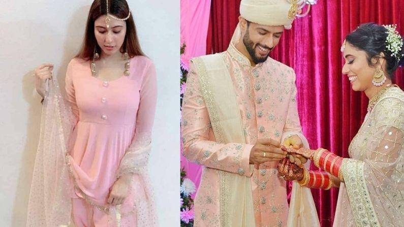 भारतीय क्रिकेट संघाचा अष्टपैलू खेळाडू शिवम दुबेने (Shivam Dube) धर्माच्या भिंती ओलांडत कट्टरतावाद्यांच्या मुस्कटात लावली आहे. त्याने आपली मुस्लिम मैत्रीण अंजुम खानशी (Anjum Khan) लग्न केलंय.