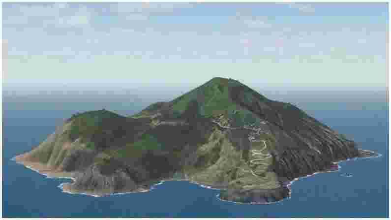 या बेटाचे नाव सबा आयलँड आहे, जे नेदरलँड्समध्ये येते. अवघ्या 13 चौरस किलोमीटरमध्ये पसरलेले हे बेट खूपच सुंदर आहे, परंतु ते तितकेच धोकादायकही आहे, कारण येथे जगातील सर्वाधिक समुद्री वादळे येतात. या वादळांमुळे बेटाभोवती अनेक जहाजे तुटली आहेत आणि बुडली आहेत. सध्या या बेटावर सुमारे 2000 लोक राहतात.