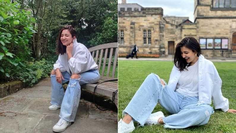 बॉलिवूडची सुंदर अभिनेत्री अनुष्का शर्मा लाखो चाहत्यांच्या मनावर राज्य करते. सध्या अनुष्का तिचा पती आणि टीम इंडियाचा कर्णधार विराट कोहलीसोबत लंडनमध्ये वेळ घालवत आहे. अशा परिस्थितीत नुकतंच तिने तिचे काही खास फोटो इन्स्टाग्रामवर शेअर केले आहेत.