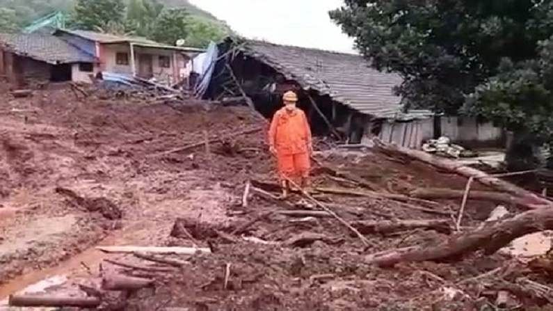 Mirgaon landslide rescue operation