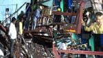 4-storey building under construction collapses on 3 houses in front andheri Mumbai, 5 people rescued in 4 hours