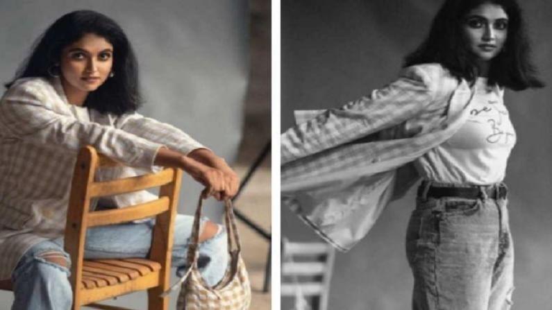 सैराट फेम अभिनेत्री रिंकू राजगुरू सध्या सोशल मीडियावर तिचे नवनवीन फोटो नेहमीच शेअर करत असते.