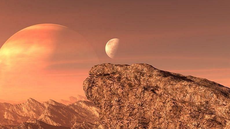 ही माती ज्वालामुखीच्या डोंगरांप्रमाणे आहे. या मातीचं प्रमाण मंगळ ग्रहावर अधिक आहे (Mars Water Atmosphere).
