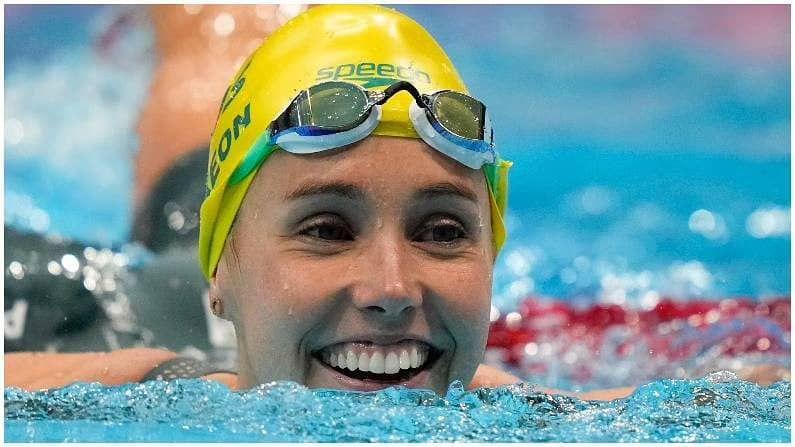 Swimmer Emma mckeon