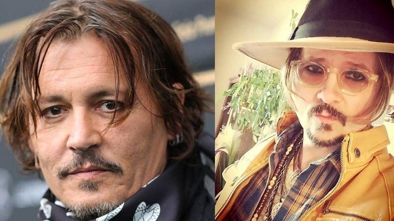 जॉनी डेप आणि जॉनी स्टेफ दोघंही एकमेकांसारखेच दिसतात.