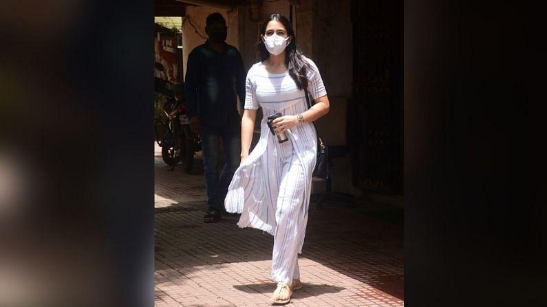 अभिनेत्री सारा अली खानने शेअर केलेल्या व्हिडीओमध्ये तिच्या नाकाला दुखापत झाल्याचे दिसलं.