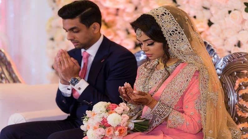 अफसान हीचा विवाह नबील काजी याच्याशी 2018 मध्ये झाला होता. त्यांच्या लग्नाला तीन वर्ष झाली असून नुकताच त्यांनी एका मुलीला जन्म दिला आहे. (सौजन्य - Afshan Azad instagram)