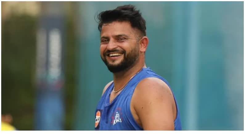 भारतीय संघातील टी-20 दिग्गज क्रिकेटपटू सुरैश रैनाही सराव करताना दिसून आला आहे. तो अत्यंत हसतमुख दिसत असून यावरुन संघामध्ये खेळीमेळीचे वातावरण असल्याचे दिसून येत आहे.