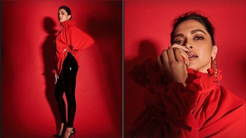 बॉलिवूड अभिनेत्री दीपिका पदुकोण सध्या सोशल मीडियावर सक्रिय राहू लागली आहे. ती नेहमी नवनवीन फोटो पोस्ट शेअर करत असते. आता दीपिकानं तिचे काही लाल रंगाच्या ड्रेसमधील फोटो शेअर केले आहेत. तिचा हा लूक चाहत्यांच्या चांगलाच पसंतीस उतरतो आहे.