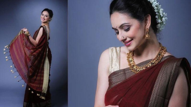 मराठी मनोरंजन विश्वाची लाडकी 'राधा' अर्थात अभिनेत्री श्रुती मराठे (Actress Shruti Marathe) ही मनोरंजन विश्वाबरोबरच सोशल मीडियावरही प्रचंड सक्रिय असते. अभिनय आणि सौंदर्य यांचा सुंदर मिलाफ असलेली ही मराठमोळी अभिनेत्री सध्या सोशल मीडियावर नवनवीन फोटो आणि व्हिडीओ शेअर करतेय.