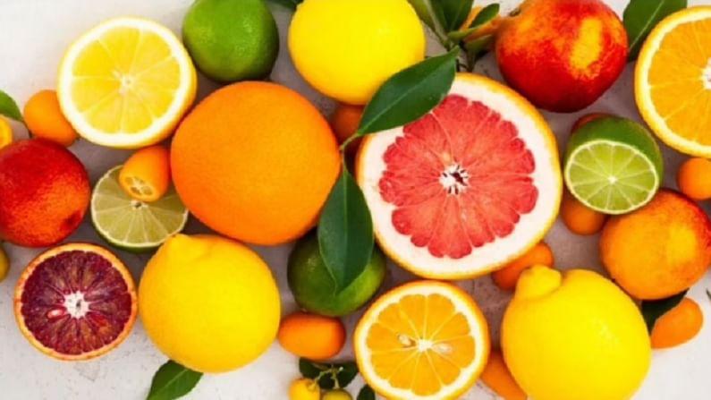 लिंबूवर्गीय फळे - लिंबूवर्गीय फळांमध्ये सायट्रिक अॅसिड, पोटॅशियम आणि व्हिटॅमिन सी जास्त प्रमाणात असते. हे ऊर्जेची पातळी सुधारते. जळजळ कमी करते आणि यकृताचे डिटॉक्सिफाय करते.