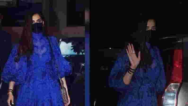 बहीण रिया कपूर(Rhea Kapoor)च्या लग्नाच्या सेलिब्रेशननंतर सोनम कपूर(Sonam Kapoor) पुन्हा एकदा कामाच्या मोडमध्ये परतली आहे. सोनम कपूर सोमवारी जुहू येथील प्रसिद्ध चित्रपट निर्माते संजय लीला भन्साळी(Sanjay Leela Bhansali) यांच्या कार्यालयाबाहेर दिसली.